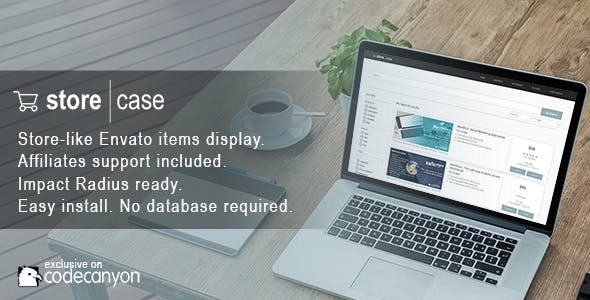 Storecase - Showcase Your Envato Items In A Store-like Web Application
