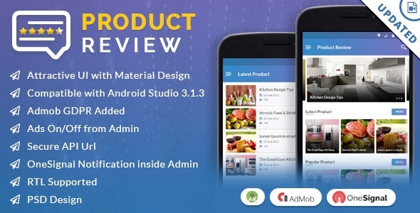 Product Review App by viaviwebtech | CodeCanyon