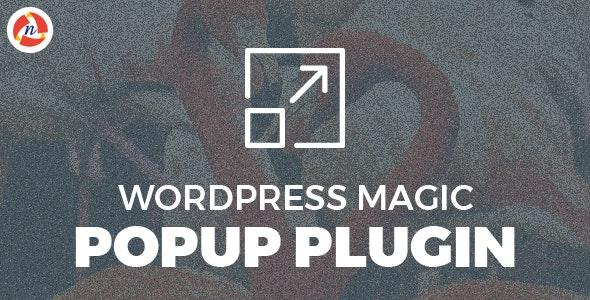 WordPress Magic Popup - CodeCanyon Item for Sale