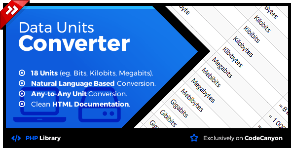 Data Units Converter - Natural Language Conversion Library