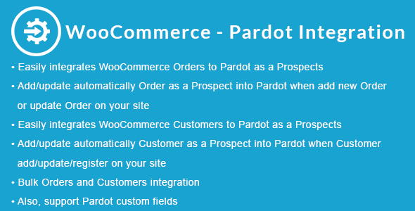WooCommerce - Pardot Integration