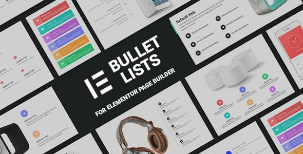 Bullets Lists Addons for Elementor Page Builder
