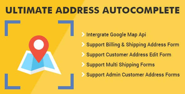 Magento 2 Ultimate Address Autocomplete Extension