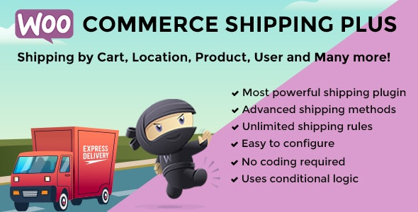 WooCommerce Shipping Plus - CodeCanyon Item for Sale