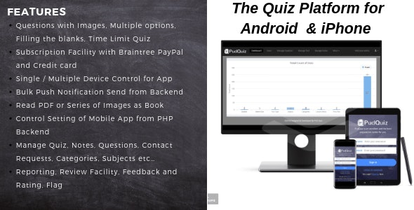 PudQuiz - The Quiz Mobile Platform for Android and iPhone - CodeCanyon Item for Sale
