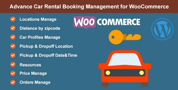 Advance Car Rental Booking Management for WooCommerce - CodeCanyon Item for Sale
