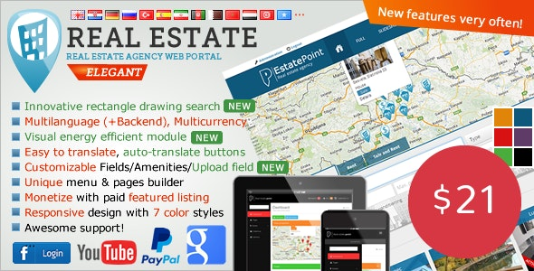 Real Estate Agency Portal by sanljiljan | CodeCanyon