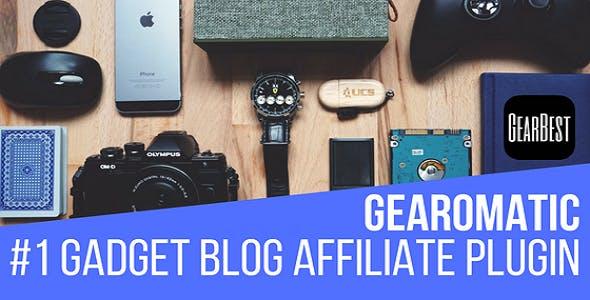 Gearomatic - GearBest Affiliate Post Importing Money Generator Plugin for WordPress