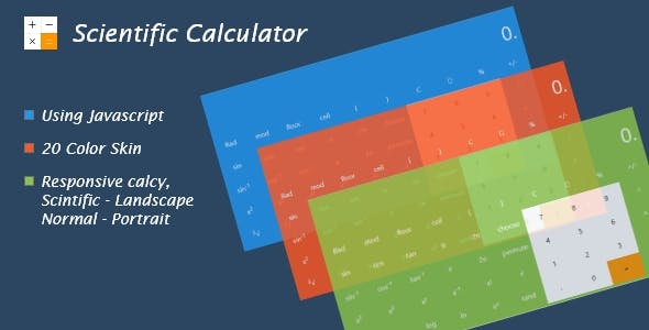 Calculator Plugins, Code & Scripts from CodeCanyon