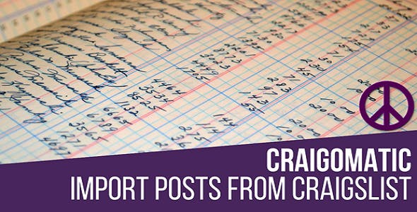 Craigomatic - Craigslist Automatic Post Generator Plugin for WordPress