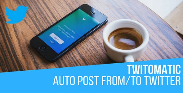 Twitomatic Automatic Post Generator and Twitter Auto Poster Plugin for WordPress