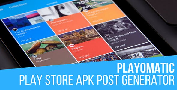 Playomatic - Play Store Automatic Post Generator Plugin for WordPress