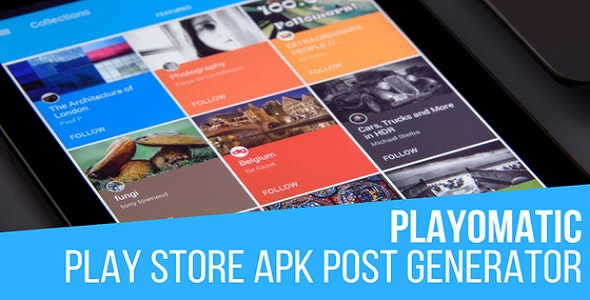Playomatic - Play Store Automatic Post Generator Plugin for