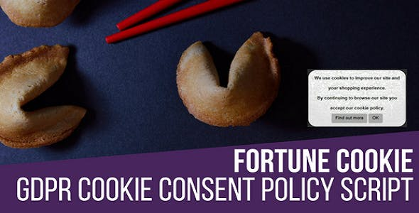 Fortune Cookie Consent Policy Javascript Script