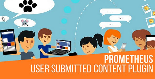 Prometheus User Submitted Content Plugin for WordPress