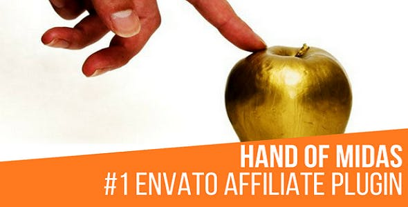 Hand of Midas - Envato Affiliate Money Generator Plugin for WordPress