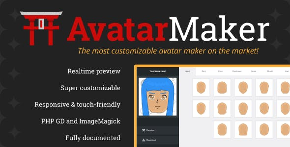 Avatar Maker Plugins, Code & Scripts from CodeCanyon