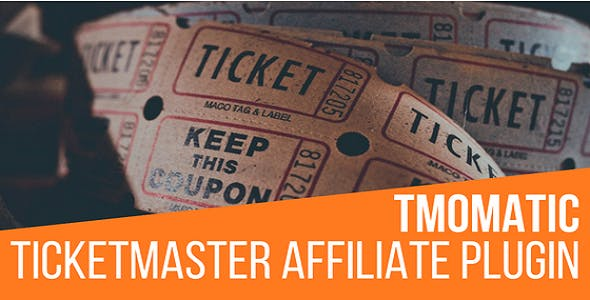 TMomatic TicketMaster Affiliate Post Generator Plugin for WordPress
