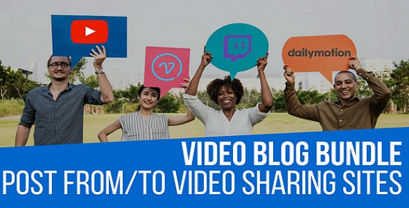 Video Blog Auto Poster WordPress Bundle by CodeRevolution - CodeCanyon Item for Sale