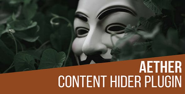 Aether Content Hider Plugin for WordPress