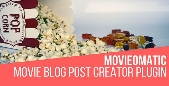 Movieomatic Automatic Post Generator Plugin for WordPress