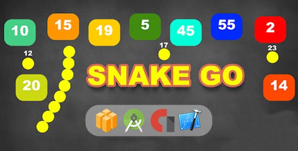Snake Go - Android & Ios Game (Buildbox Included)