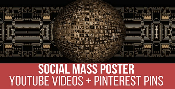 YouTube Video Mass Poster and Pinner - CodeCanyon Item for Sale