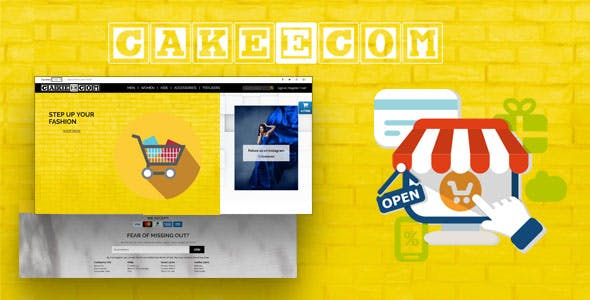 CakeEcom - E-commerce Solution