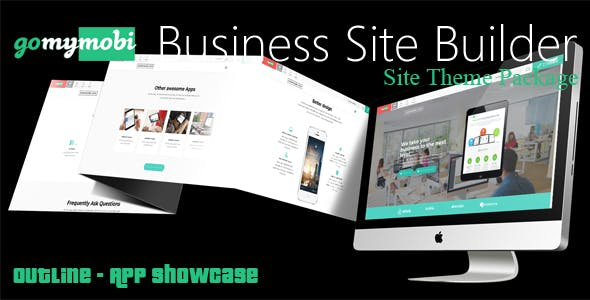 gomymobiBSB's Site Theme: Outline - App Showcase