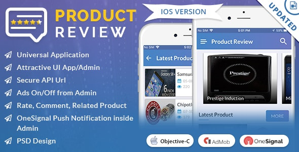 iOS Product Review - CodeCanyon Item for Sale