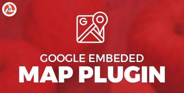 Google Embeded Map