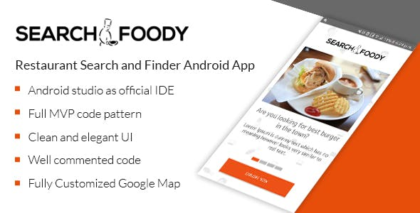 Search Foody - Restaurant Search And Finder Android App