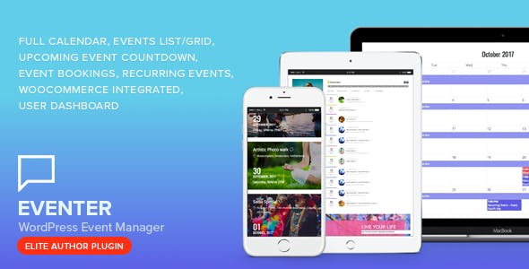 Eventer - WordPress Event Manager Plugin        Nulled