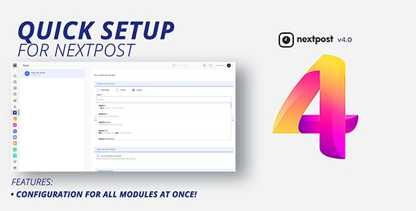 NextPost Module: Quick Setup all automation at once