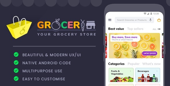 Grocery Store Template - CodeCanyon Item for Sale