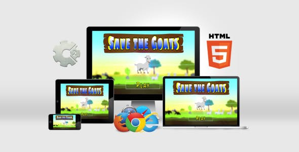 Save the Goats - HTML5