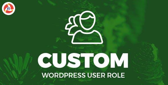 Custom WordPress User Role