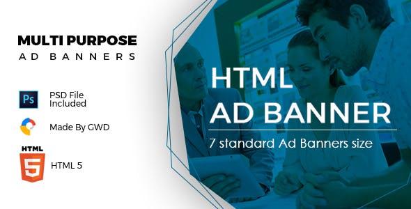 Multi Purpose Ad Banners
