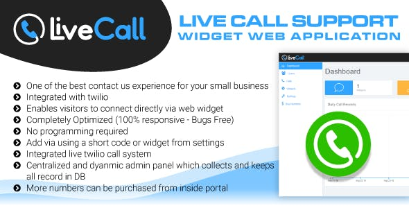 Call From Website Software Web Application Plugins, Code