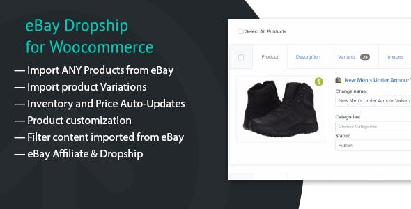 eBay Dropship for WooCommerce