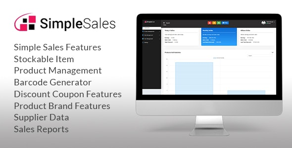 Simple sales - Inventory System & POS - CodeCanyon Item for Sale
