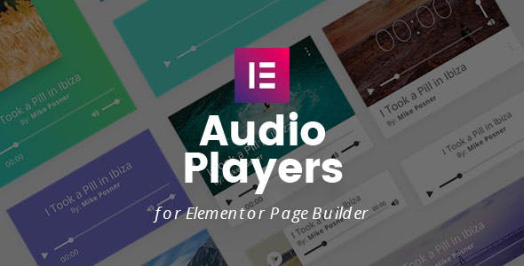 Audio Players for Elementor Page Builder
