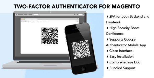 MDW Two-Factor Authenticator Extension for Magento
