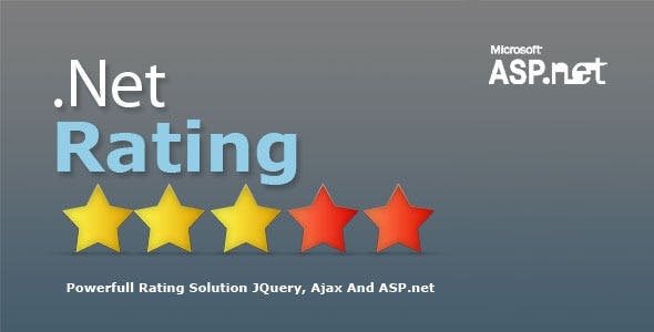 NetRating Asp.Net Star Rating System