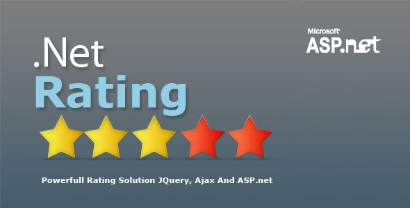 NetRating Asp.Net Star Rating System - CodeCanyon Item for Sale