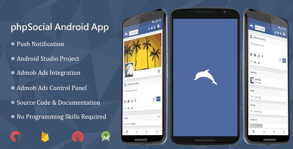 phpSocial Android Application