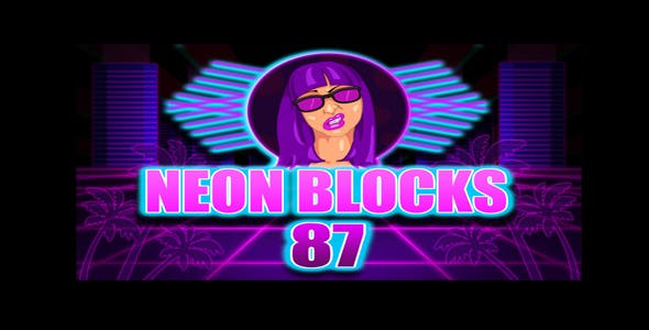 Neon Blocks 87 & Construct 2