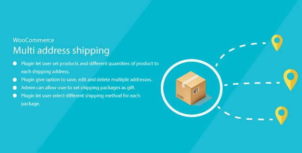 WordPress WooCommerce MultiAddress Shipping