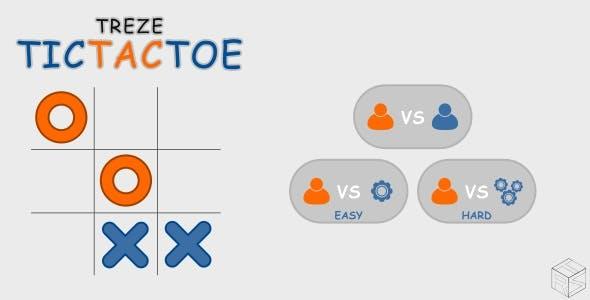 trezeTicTacToe - HTML5 Puzzle Game