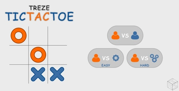trezeTicTacToe - HTML5 Puzzle Game - CodeCanyon Item for Sale